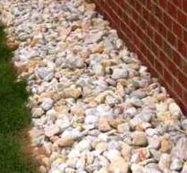 Использование гравийного щебня в строительстве