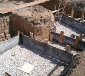 Использование вторичного щебня при строительстве фундамента