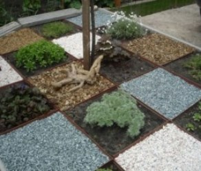 Использование отсева щебня в облагораживании садово-парковых территорий